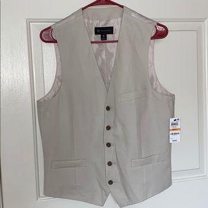 Macy's INC International Concepts Linen Vest